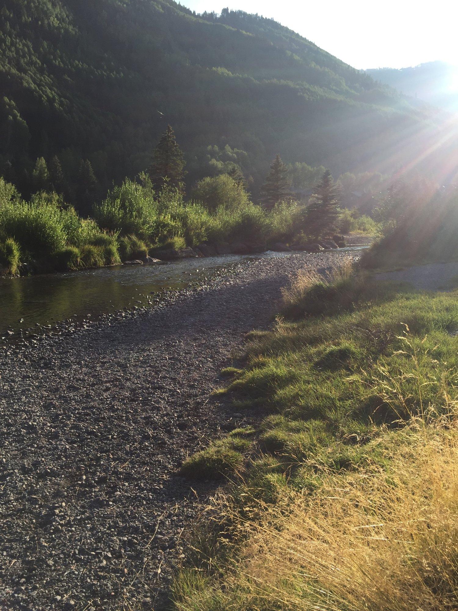 RiverTrail+sunshine