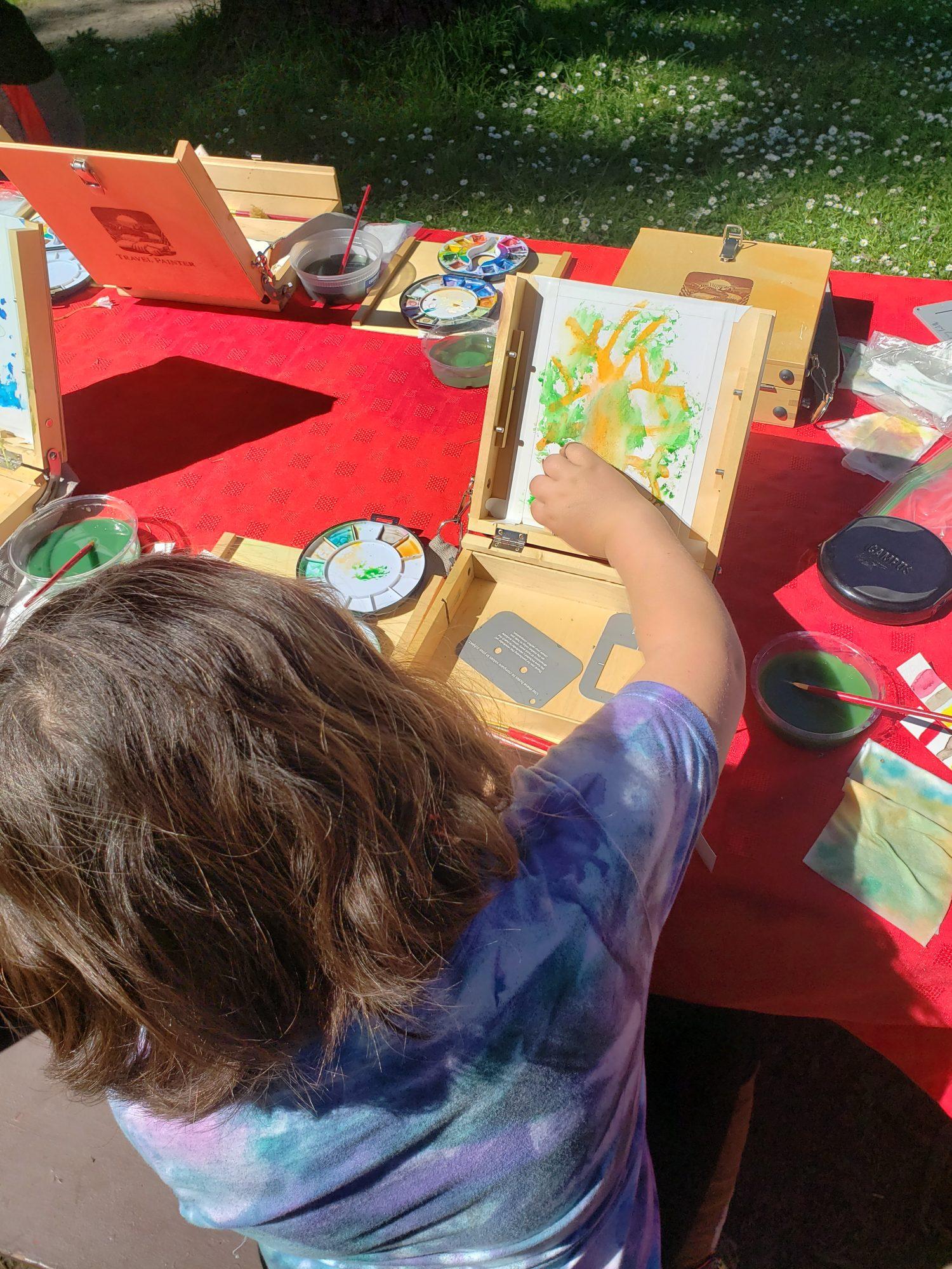 WP TOUR- Emma painting